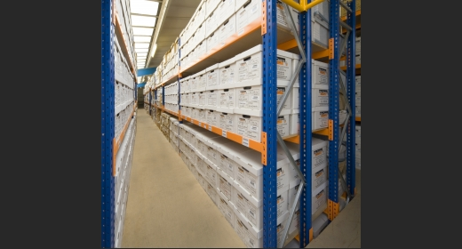 Preston Records Management Warehouse